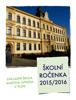 ZŠ M. Luthera - Ročenka ZŠML 2015–2016 artwork