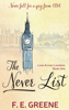 F. E. Greene - The Never List  artwork