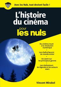L'Histoire du cinéma illustrée pour les Nuls, nelle édition La couverture du livre martien