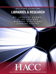 Libraries & Research: Getting Started