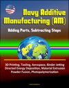 Navy Additive Manufacturing AM Adding Parts Subtracting Steps - 3D Printing Tooling Aerospace Binder Jetting Directed Energy Deposition Material Extrusion Powder Fusion Photopolymerization