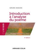 Introduction à L'analyse Du Poème - 4e éd.