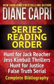 The Diane Capri Series Reading Order Checklist PDF Download
