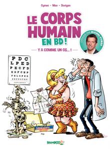 Le corps humain en BD ! La couverture du livre martien