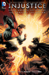Injustice: Gods Among Us Year One - The Complete Collection Copertina del libro