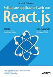 Sviluppare applicazioni web con React.js Book Cover