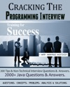 CRACKING THE PROGRAMMING INTERVIEW  2000 Ques Concepts ProblemsAnalysis  Solutions
