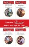 Harlequin Presents April 2016 - Box Set 1 Of 2