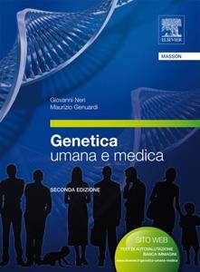 Genetica umana e medica Book Cover