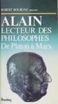 Alain  Lecteur Des Philosophes