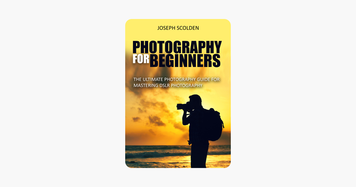 Photography book dslr