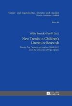 New Trends In Children's Literature Research