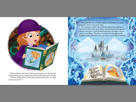 ‎Sofia the First Read-Along Storybook: The Tale of Miss Nettle