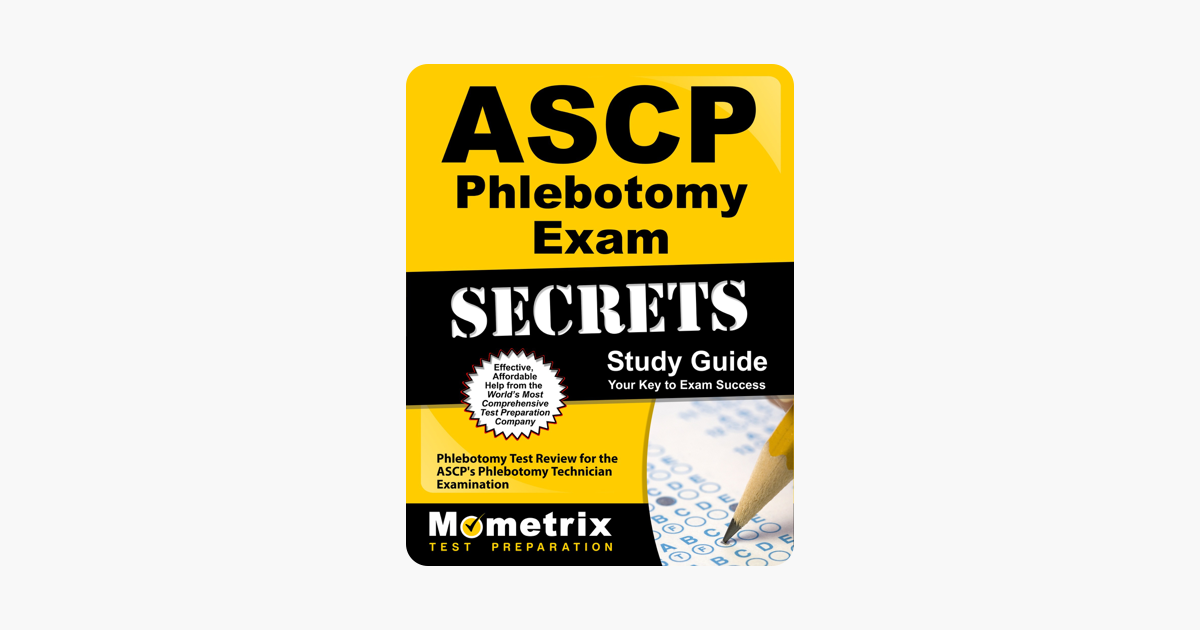 ‎ASCP Phlebotomy Exam Secrets Study Guide