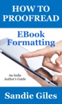 How To Proofread EBook Formatting
