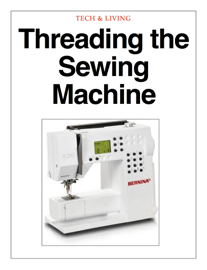 Threading the Sewing Machine