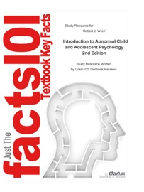 Study Resource For Introduction To Abnormal Child And Adolescent Psychology