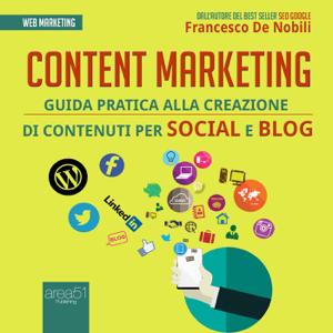 Content marketing Copertina del libro