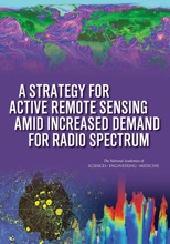 A Strategy For Active Remote Sensing Amid Increased Demand For Radio Spectrum