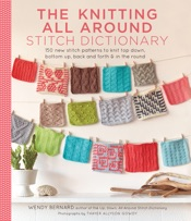 Download and Read Online The Knitting All Around Stitch Dictionary