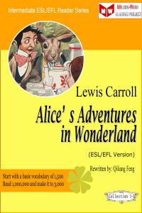 Alice's Adventures in Wonderland (ESL/EFL Version) La couverture du livre martien