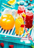 Limonaden, Sommergetränke und Sorbets mit dem Thermomix TM5