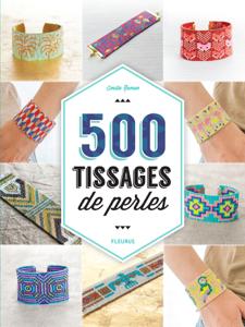 500 tissages de perles La couverture du livre martien