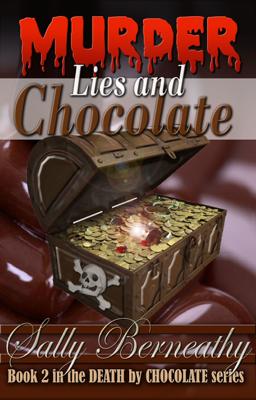 Murder, Lies and Chocolate - Sally Berneathy book