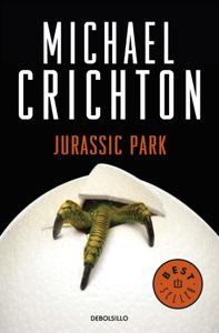Parque Jurásico (Jurassic Park) Book Cover
