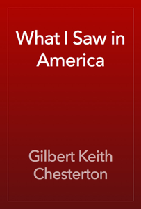 What I Saw in America Book Review