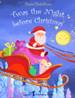 Clement Clarke Moore & Mihaela Railean - Twas the night before Christmas (Enhanced Book for all the Family) artwork
