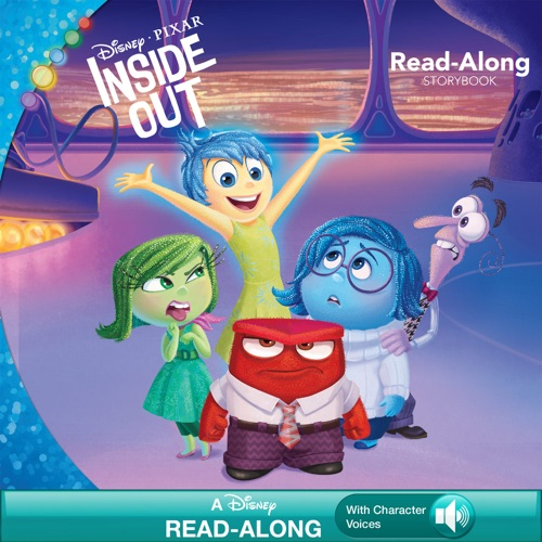 Suzanne Francis & Disney Book Group - Inside Out Read-Along Storybook