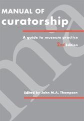 Manual of Curatorship