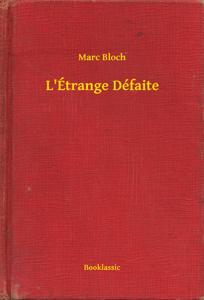 L'Étrange Défaite La couverture du livre martien