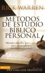 Mtodos De Estudio Bblico Personal