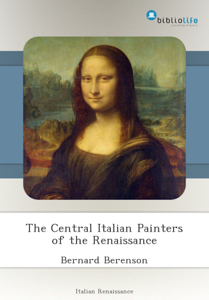 The Central Italian Painters of the Renaissance Libro Cover