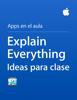 Apple Education - Explain Everything Ideas para clase ilustraciГіn