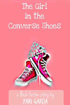 The Girl in the Converse Shoes book cover