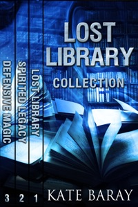 Lost Library Collection: Books 1-3 Book Cover