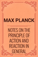 Notes On The Principle Of Action And Reaction In General Dynamics