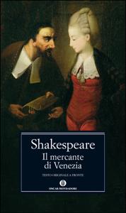 Il mercante di Venezia Libro Cover