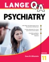 Lange QA Psychiatry 11th Edition