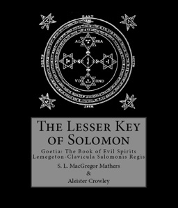The Lesser Key of Solomon Book Cover