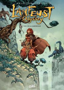 Lanfeust Odyssey T08 La couverture du livre martien