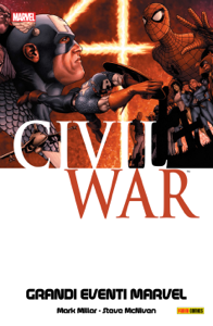 Civil War (Grandi Eventi Marvel) Libro Cover