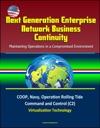 Next Generation Enterprise Network Business Continuity Maintaining Operations In A Compromised Environment - COOP Navy Operation Rolling Tide Command And Control C2 Virtualization Technology