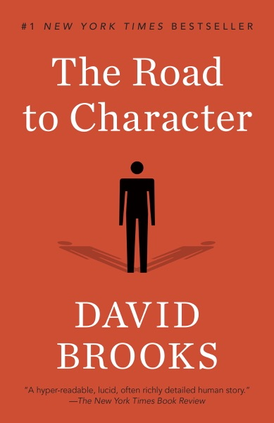 The Road to Character - David Brooks book cover