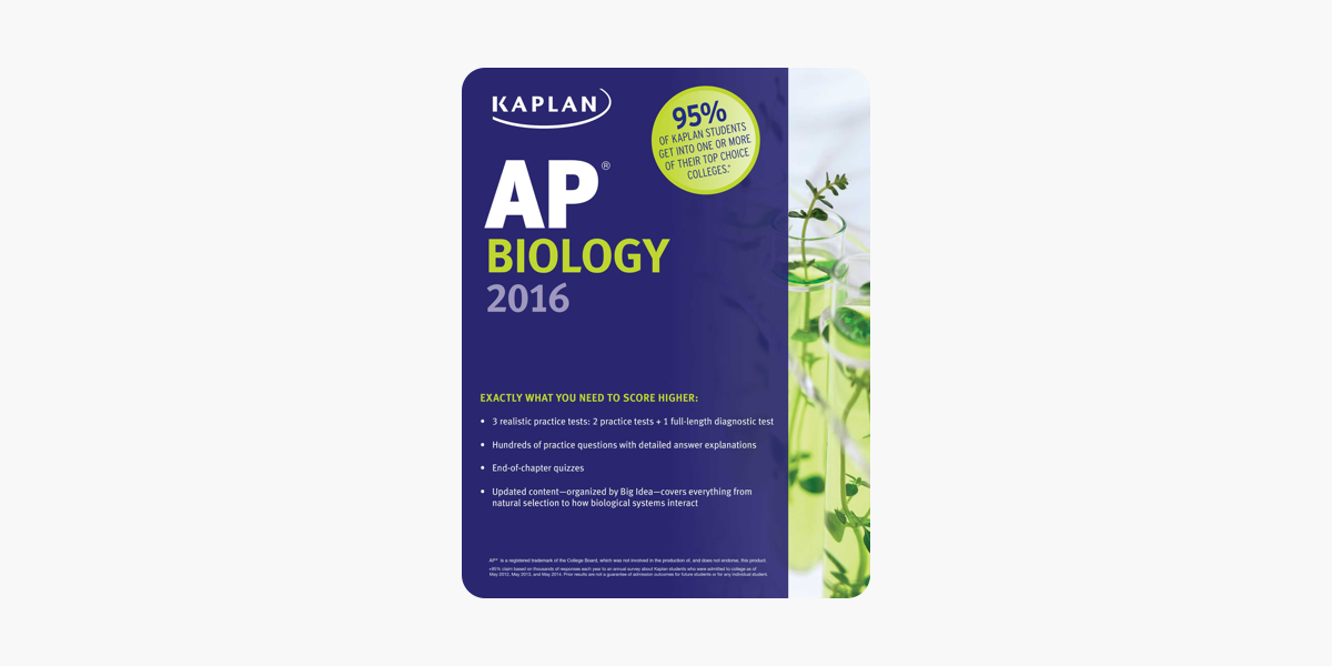 Ap Biology Chapter 1 Test Answers