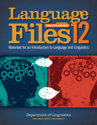 Language Files - Department of Linguistics book