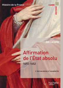 Affirmation de l'État absolu 1492-1652 La couverture du livre martien